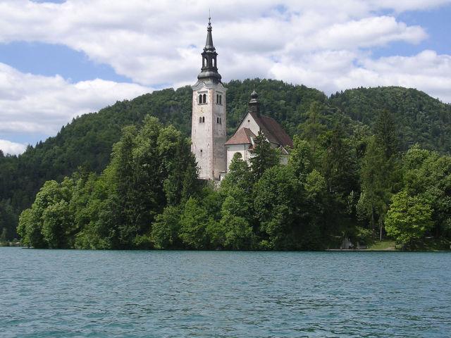 A Beautiful Island in Slovenia