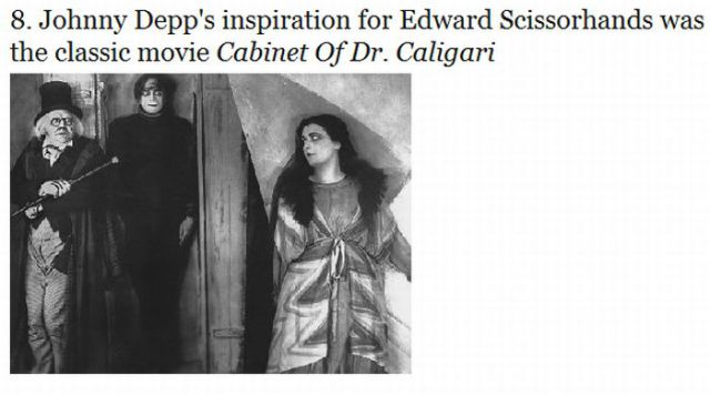 Interesting Facts about Edward Scissorhands Movie