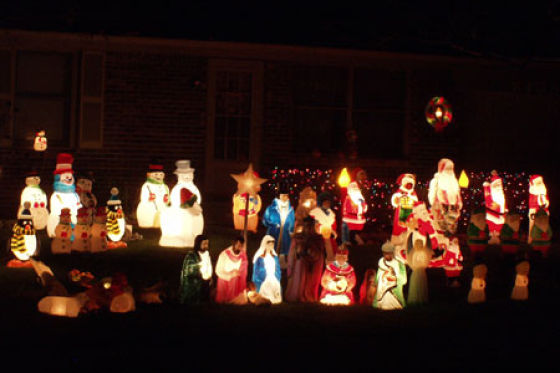 Tacky Christmas Decorations