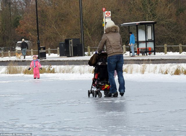 Are These Ice Skaters Crazy?