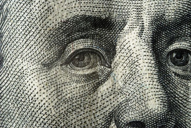 A Macro Look at 100 Dollar Bill