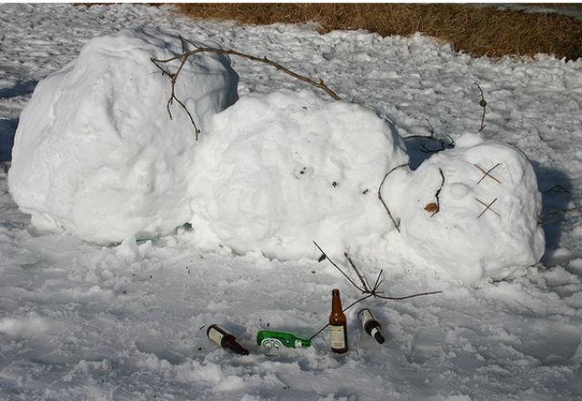 Drunk Snowmen