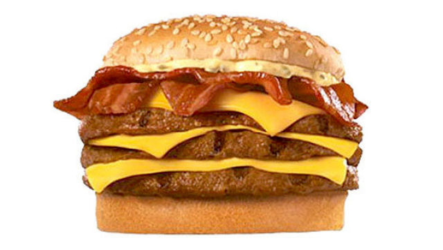 The Real Face of Fast Food Burgers