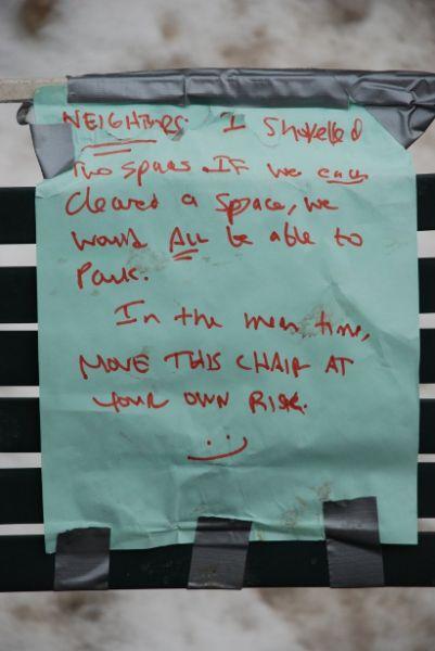 Tilted Tens: Parking Spot Savers