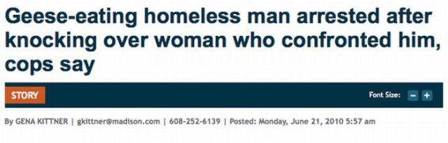 Hilarious Headlines