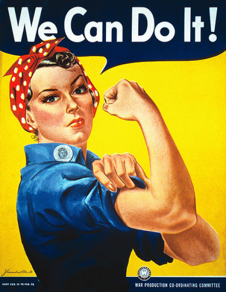 Uncanny Factoid: We Can Do It Rosie