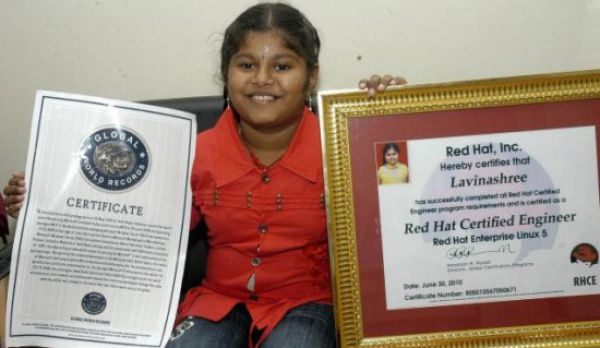 Uncanny Factoid: 10 Year Old Red Hat Linux Certified - Izismile.com