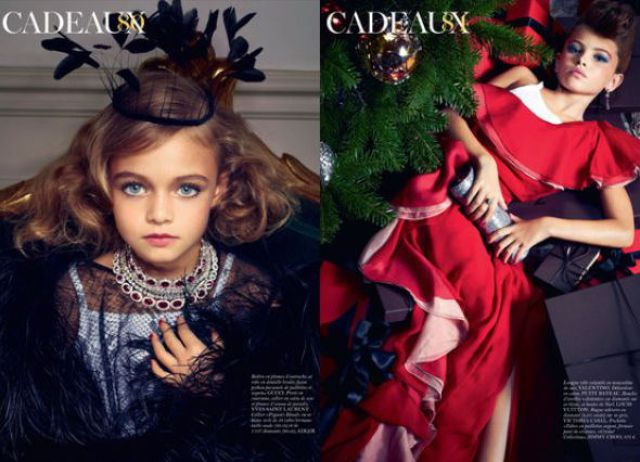 Children Models for Vogue Paris