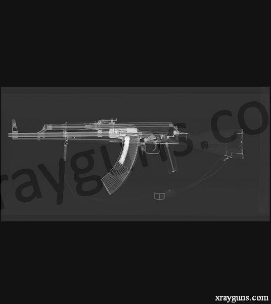 X rayed Guns