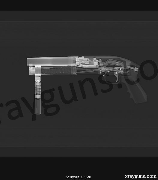 X rayed Guns