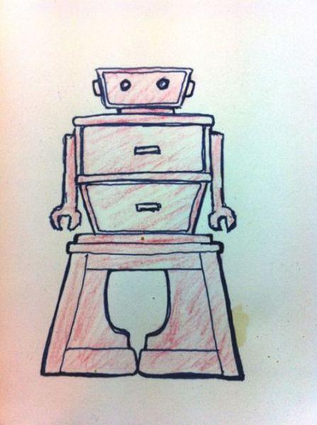 A Scrappy Robot