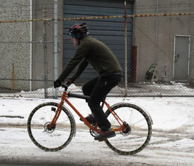 Beat the Snow on a Bicycle