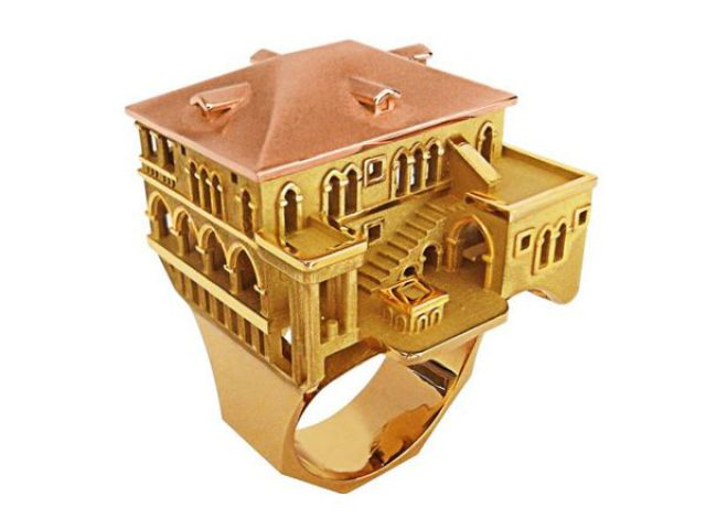 Amazing Architectural Jewelry