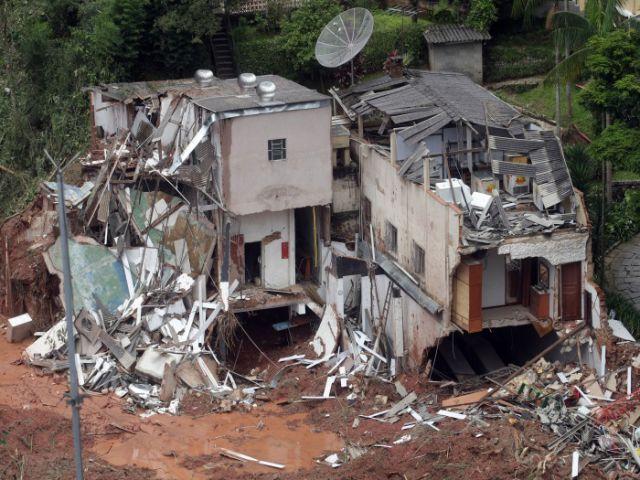 Tragedy of The Rains in Rio de Janeiro, Brazil.