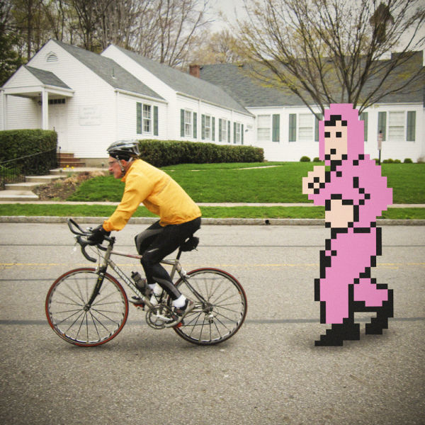 8-Bit Video Game Characters vs. Real Life