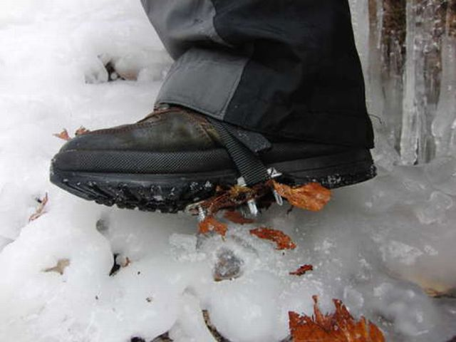 How to Walk on Ice without Slipping