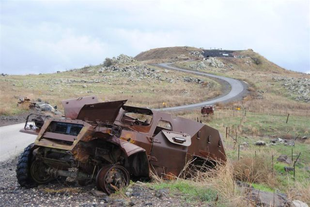 War Torn Vehicles