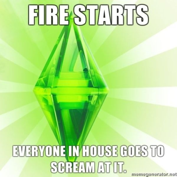 Some of the Coolest Sims Meme