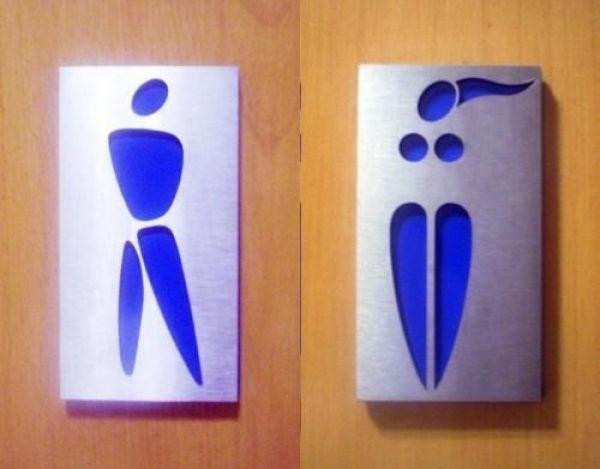 Hilarious Public Restroom Signs