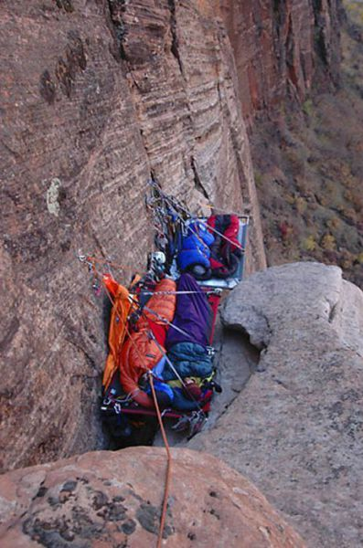 Extreme Hanging Tents