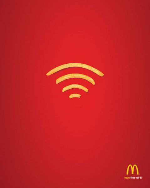 Some Clever Print Advertisements That are Minimal