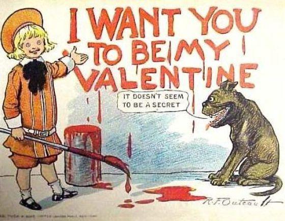 Frightening Valentines