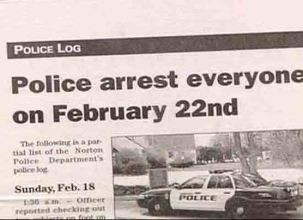Hilarious Headlines