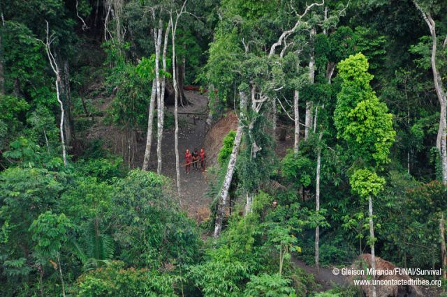 One of the Last Uncontacted Tribes in the World