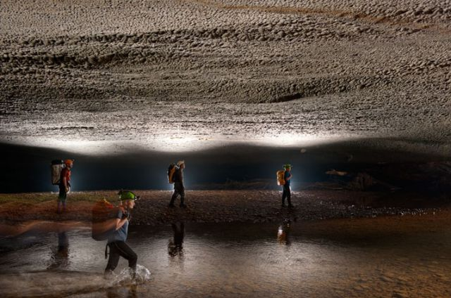 A Bottomless Cave