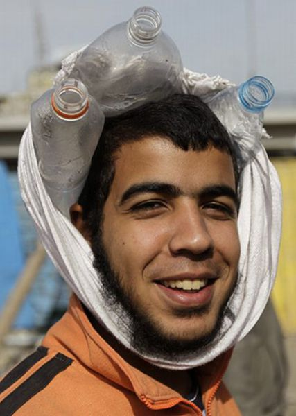 Head Protection of Egyptian Protesters