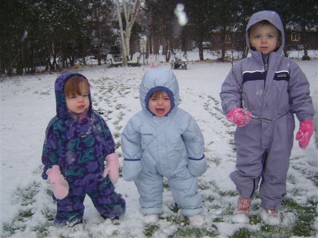 Those Uncomfortable Snowsuits