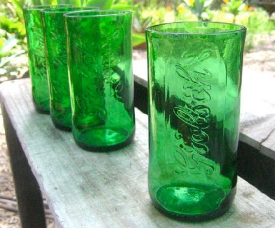 How to Turn a Bottle into a Drinking Glass