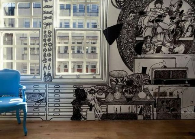 Amazing Wall Art amazing marker wall art (11 pics) - izismile