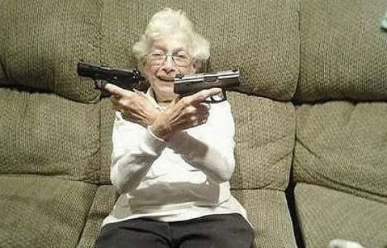 Gun Toting Grannies