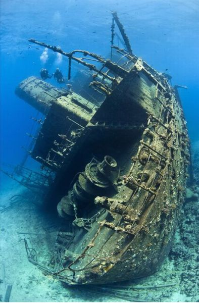 Ships That The Sea Gobbled up