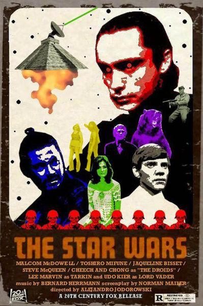 Cool Bizarro World Film Posters
