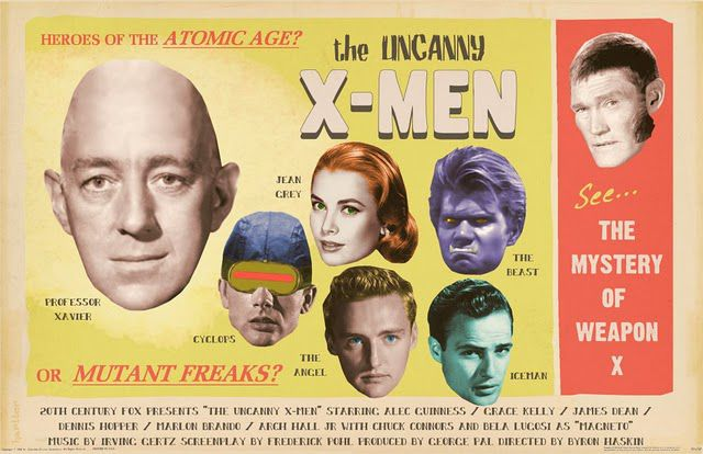 Cool Bizarro World Film Posters