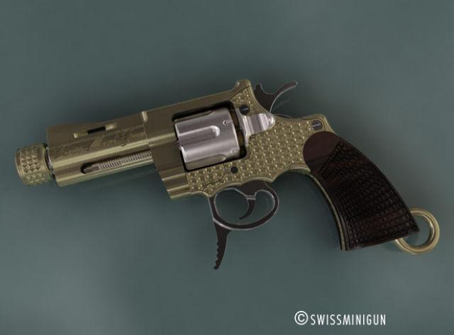 Teeny Tiny Swiss  Revolver