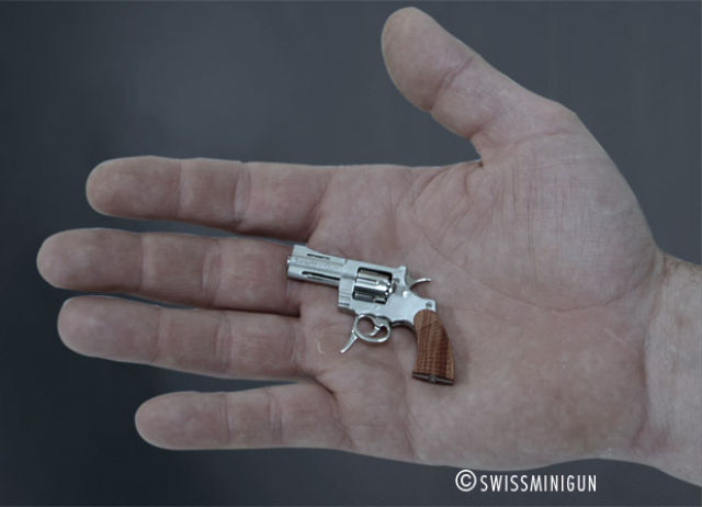Teeny Tiny Swiss  Revolver