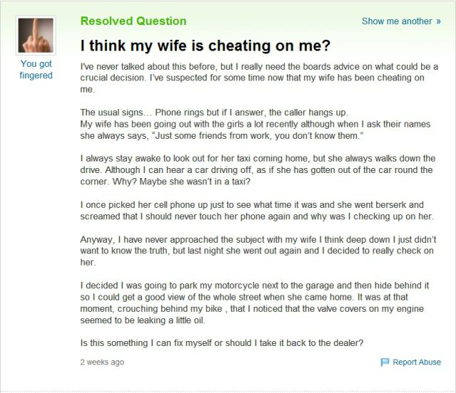 How To Understand That Wife Is Cheating?