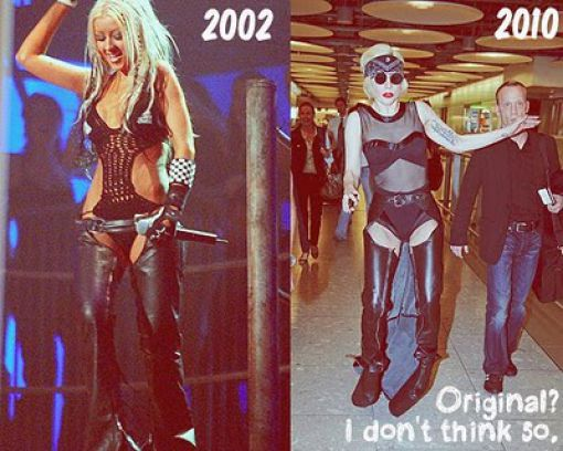 Lady Gaga Is a Copy Paste