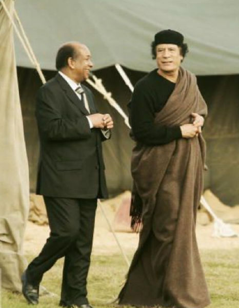 Muammar al-Gaddafi the Fashionista and His Angels