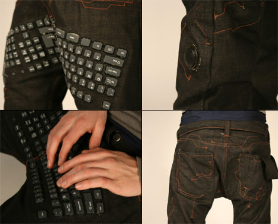 Computer Keyboard Pants