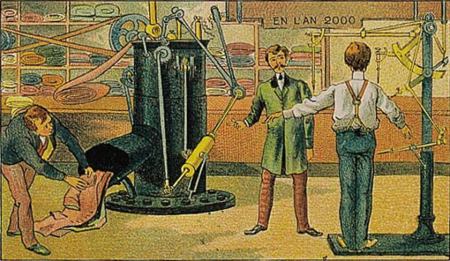 The Future Imagined 100 Years Ago