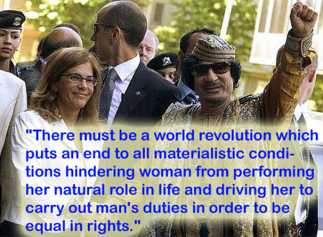Silliest Gadaffi Quotes