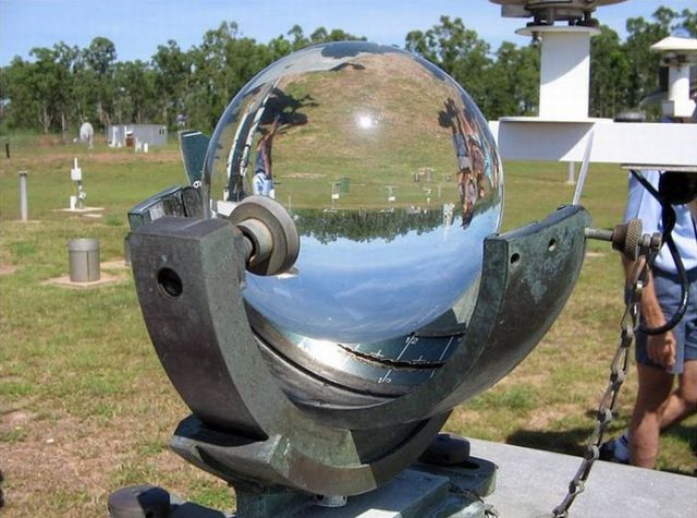 Campbell-Stokes Pattern Sunshine Recorder