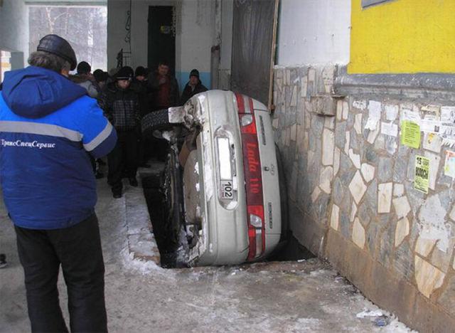 Car Parking Fail
