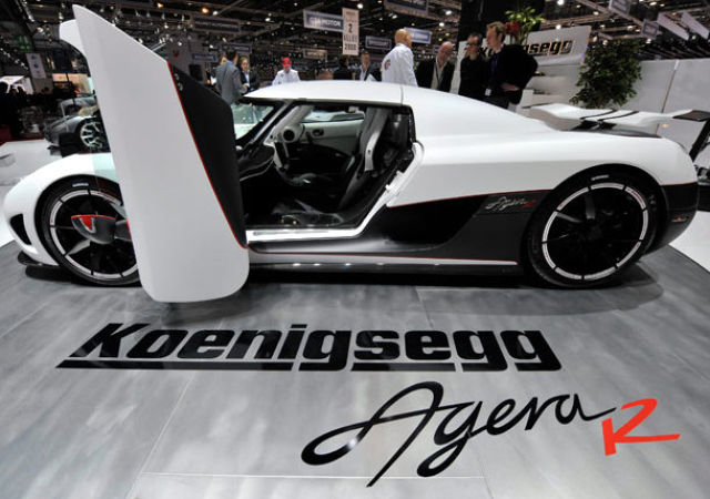 Flashy Cars at the Geneva Motor Show