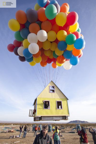 A Flying House