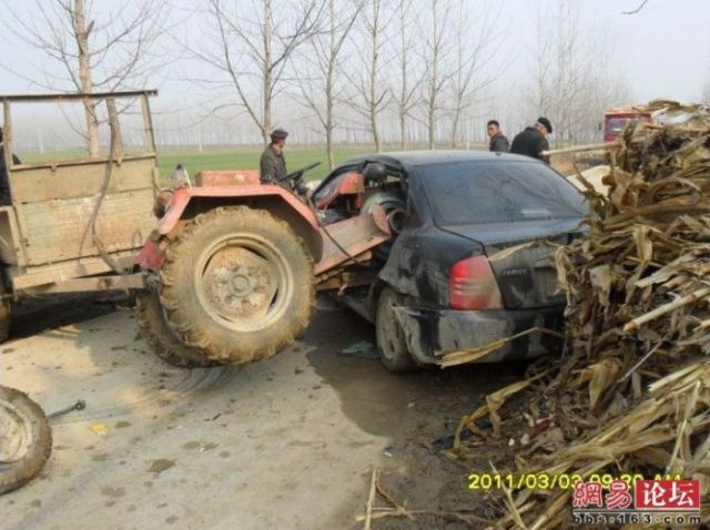 The Tractor and the Car